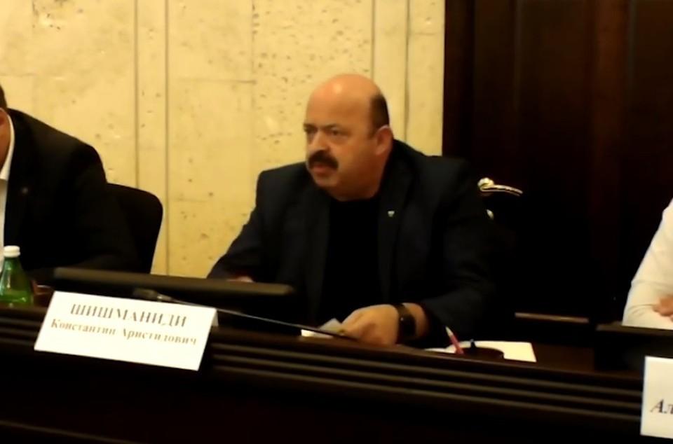Полпред Константина Шишманиди фото: скрин с видеозаписи