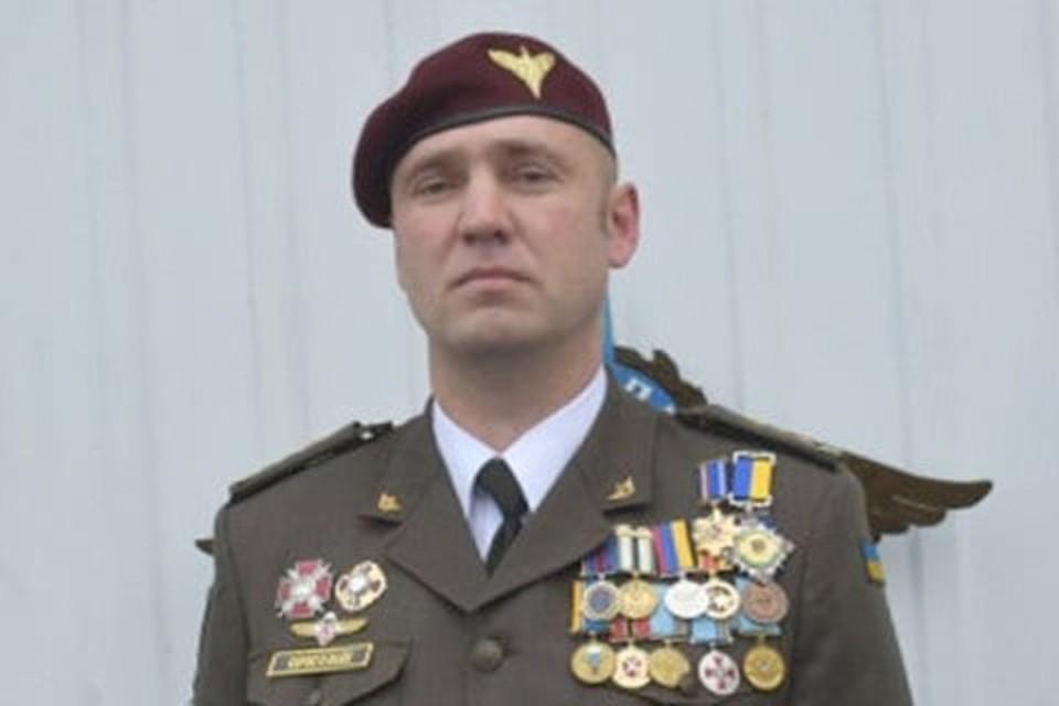 Евгений Коростелев с 2014 года командовал артиллерией в 25-й десантной бригаде. Фото: УМП