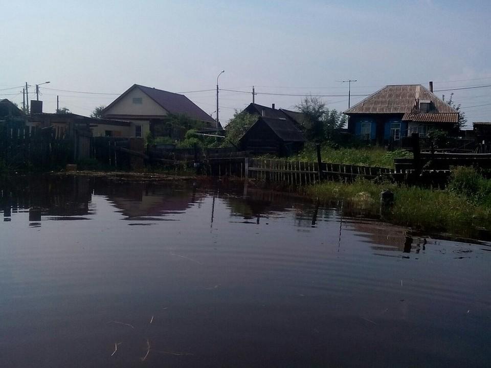 Новое жилье купят минусинским подтопленцам из признанных непригодными домов. Фото: соцсети.