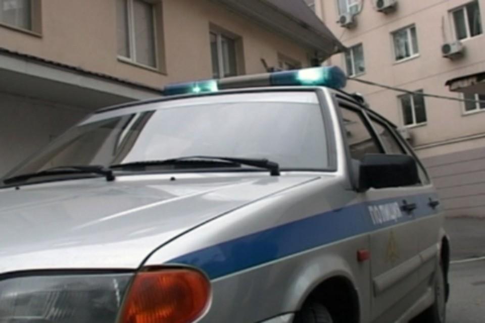 Место происшествия оцепила полиция