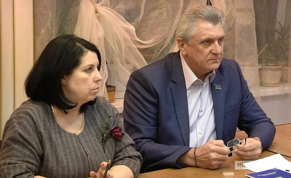 Депутат Заксобрания ЯНАО Павел Крюков встретился с жителями Ноябрьска. Фото: Ноябрьск 24