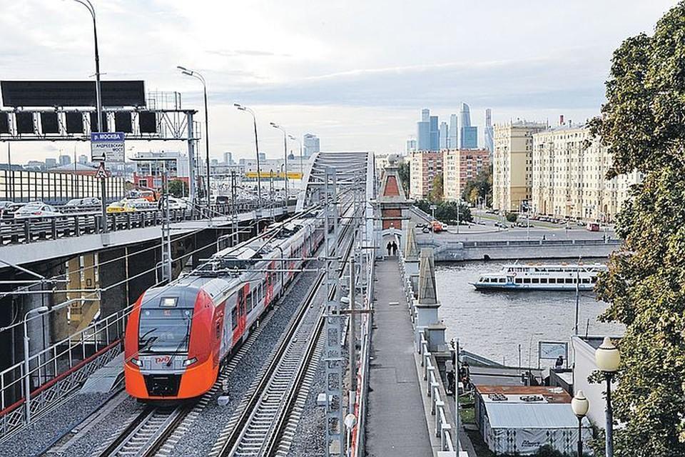В России реализуются многие успешные проекты - например, Московское центральное кольцо.