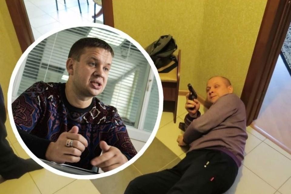 Бизнесмен выпустил в соседа сверху три пули, но следствие его оправдало. Фото: Алена МАРТЫНОВА, а также предоставлено Евгением Шатиловым.