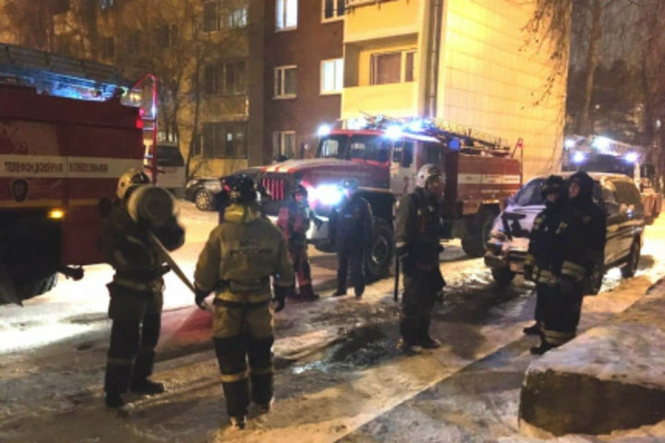Из горящей квартиры в центре Иркутска спасли 84-летнюю пенсионерку.