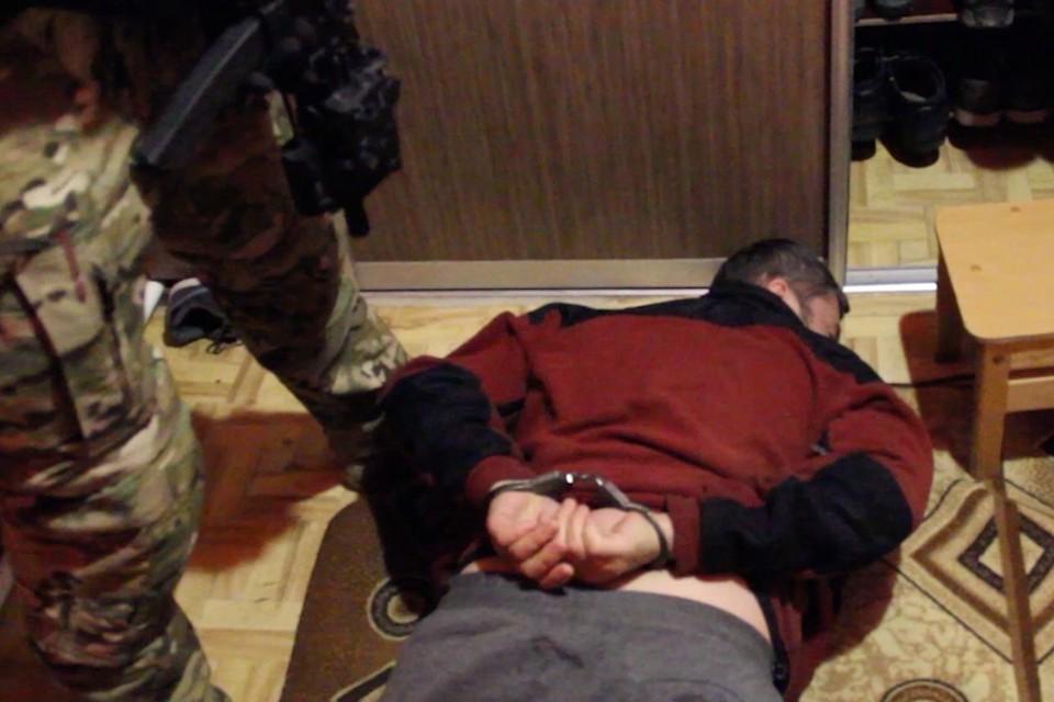 Задержанных террористов поместили под арест, где они будут дожидаться суда. Фото: ФСБ РФ