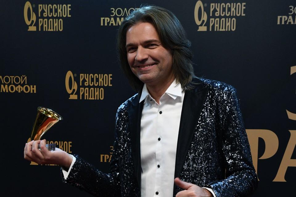 Дмитрий Маликов на премии «Золотой граммофон»