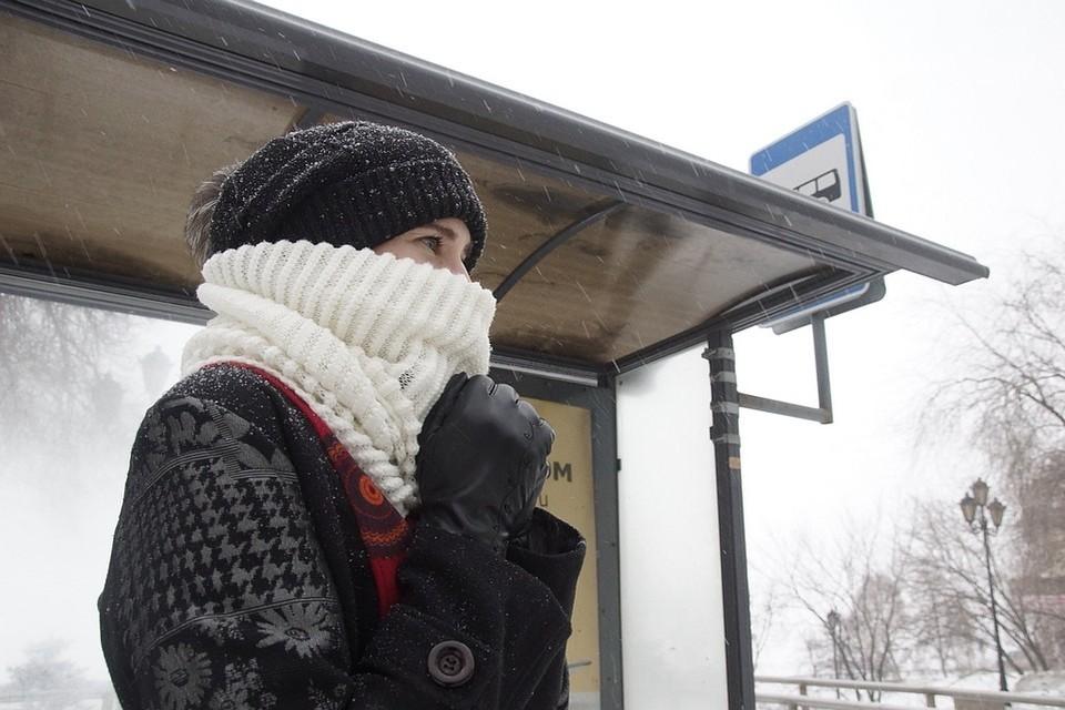 Выше ноля столбики термометров в ближайшие дни не поднимутся