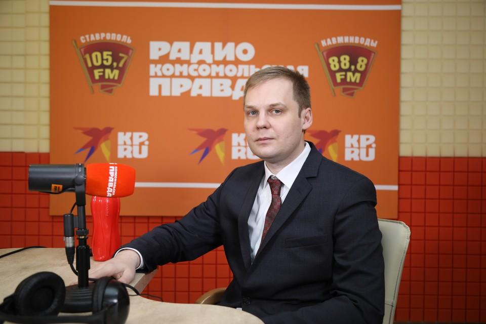 Руководитель ревматологического центра СККБ Иван Щендригин