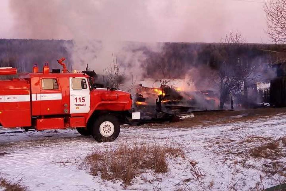 Мужчина и два ребенка погибли на пожаре в Куйтунском районе