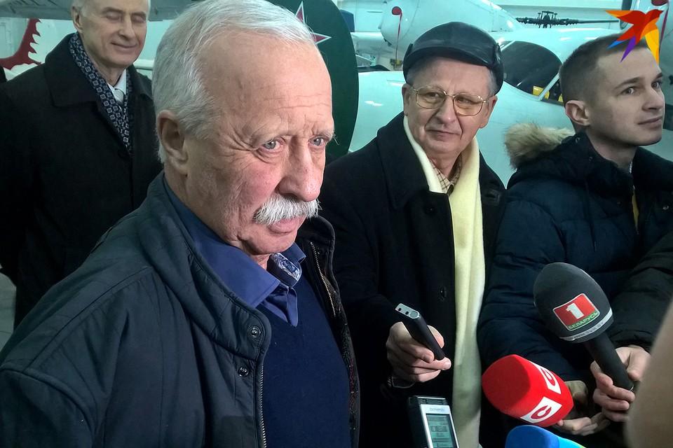 Леонид Якубович «Комсомолке»: «В Беларуси бываю только чтобы полетать»