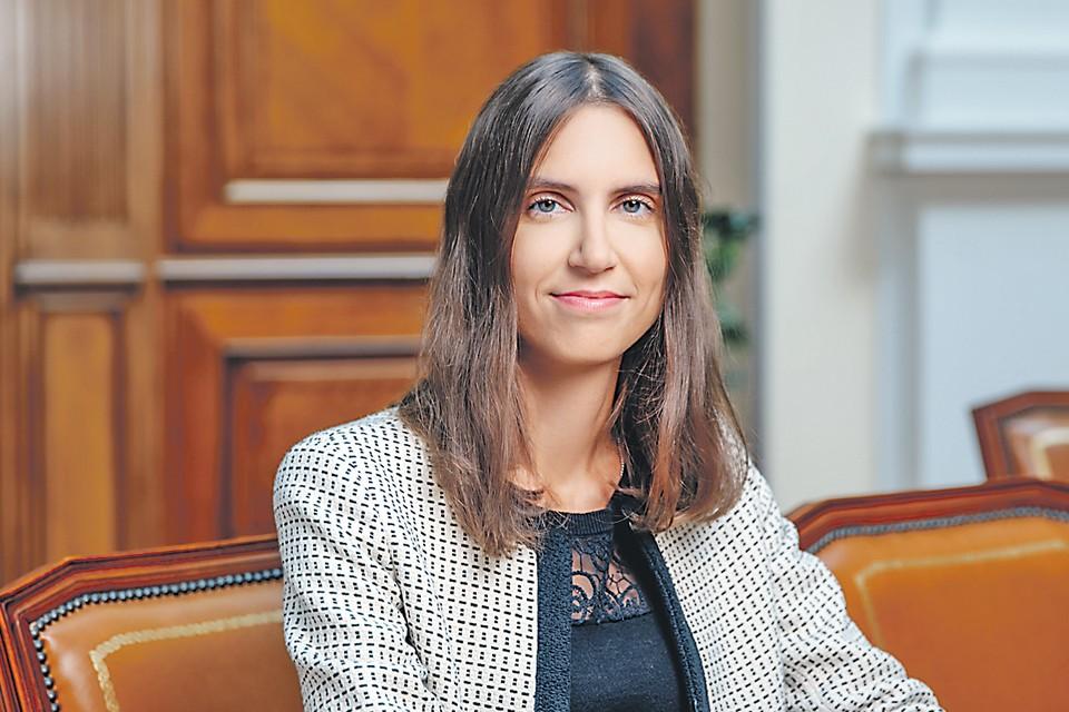 Директор департамента финансовой стабильности Банка России Елизавета Данилова