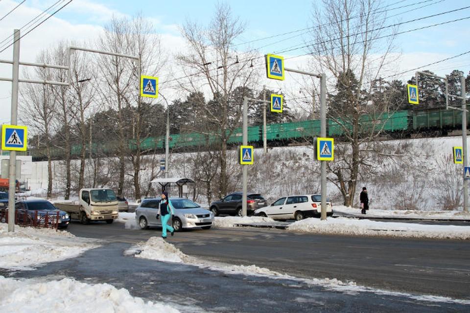 Почему на одном пешеходном переходе в Иркутске появилось сразу 8 знаков