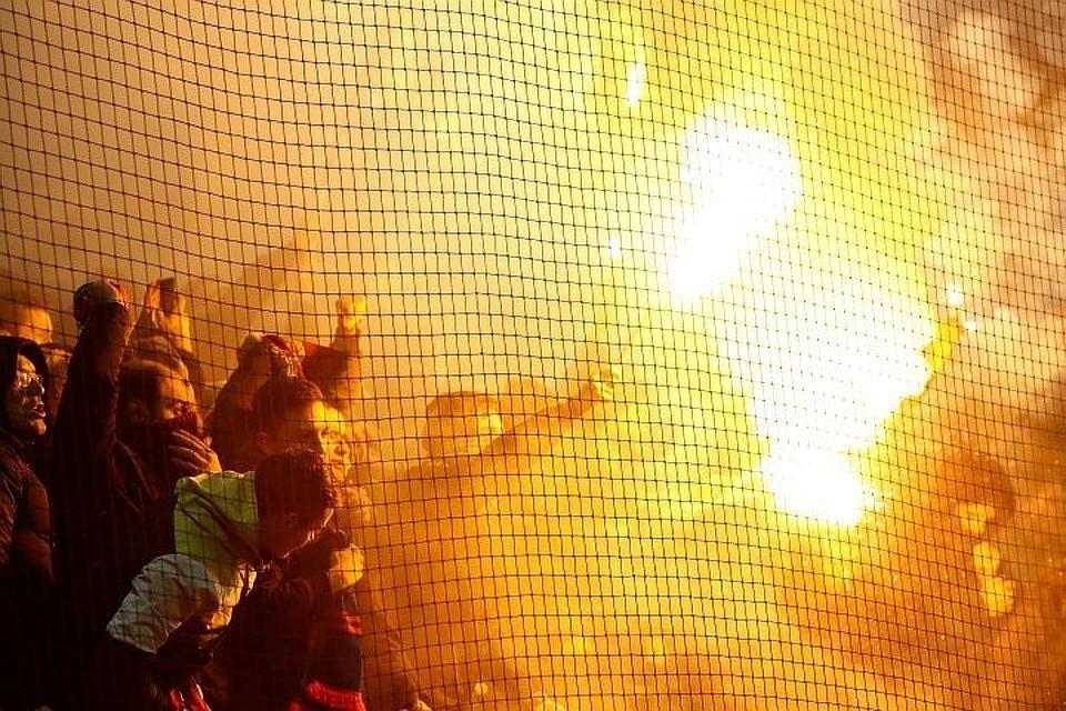 Болельщики ЦСКА отличаются своей активностью