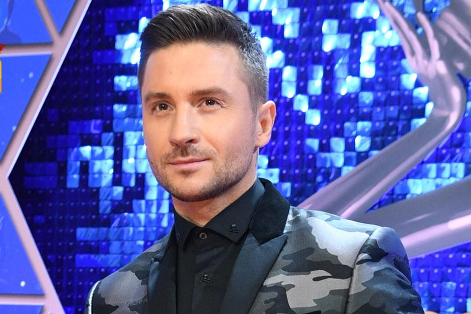 Сергей Лазарев на премии «Виктория»