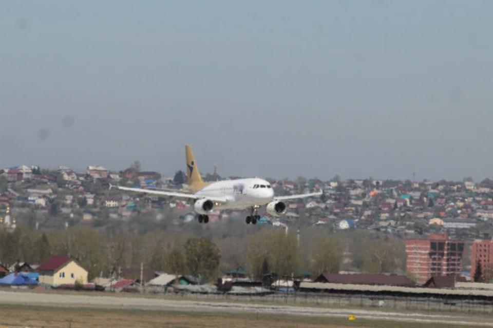 Пилотов Airbus A320 ослепили лазером при посадке в аэропорту Иркутска