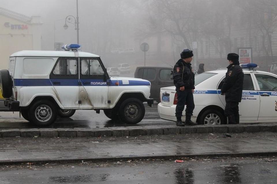 Полицейские проверяют поступившую информацию