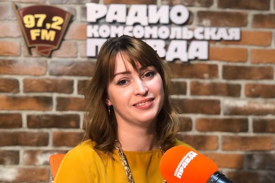 Настасья Самойлова.