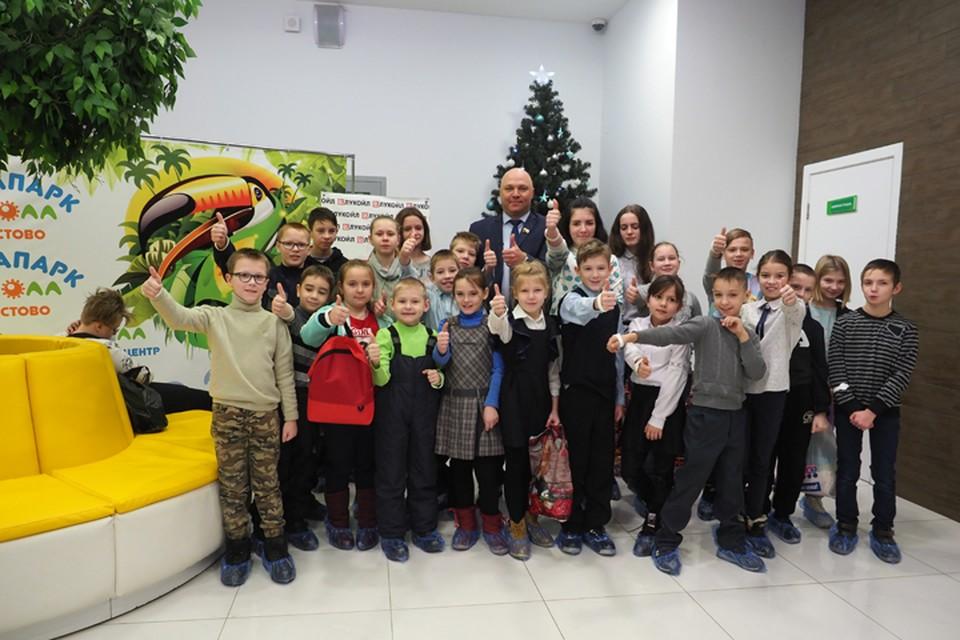 ЛУКОЙЛ поддержал благотворительную акцию в кстовском аквапарке