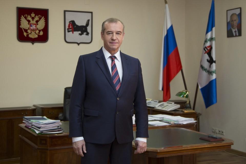 Президент России Владимир Путин принял отставку губернатора Иркутской области.