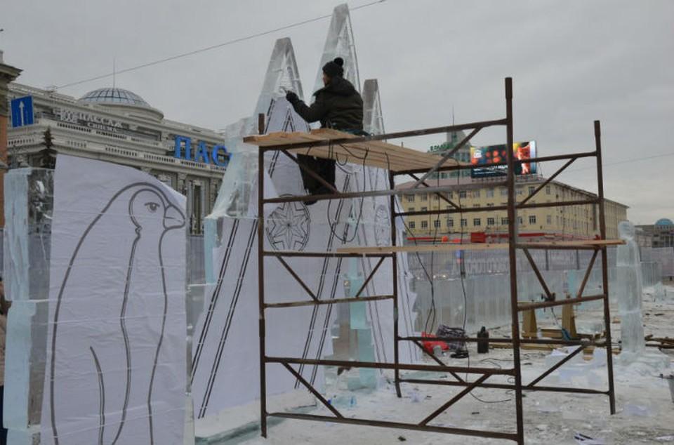 Заготовки будущих скульптур Фото: администрация Екатеринбурга