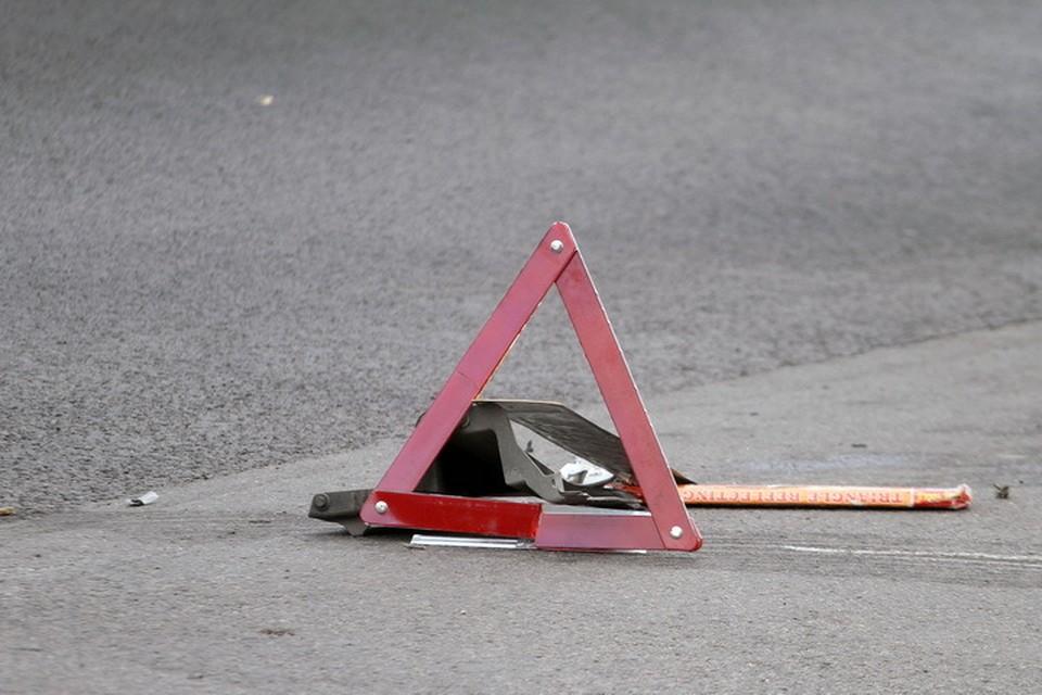 Женщина переходила дорогу, водитель не успел отреагировать.
