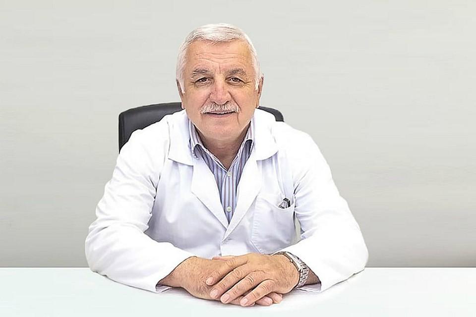 Владимир Абдуев - врач-травматолог, кандидат медицинских наук. Фото: zdrava123.ru