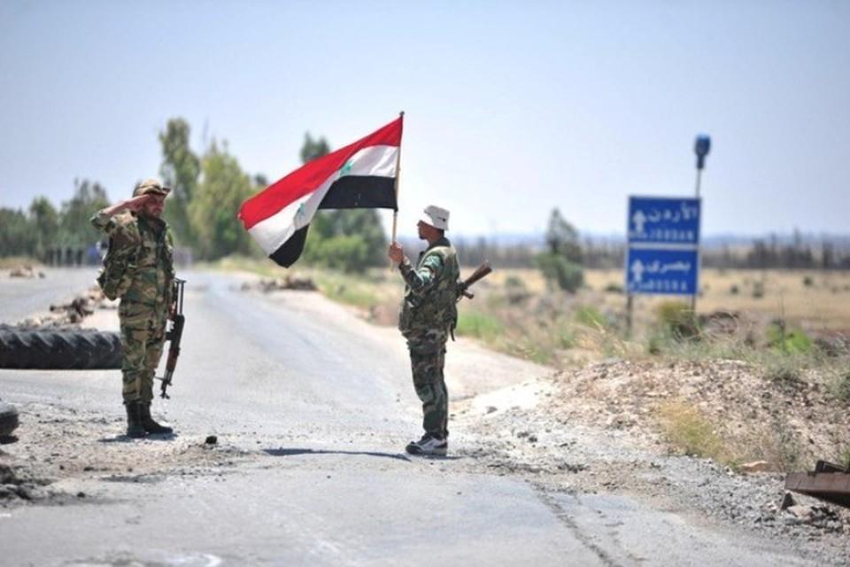 Сирийская армия отразила несколько атак боевиков террористических группировок