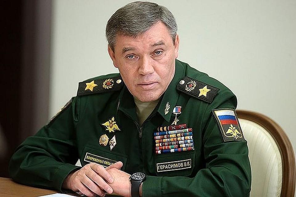 Начальник Генштаба ВС РФ Валерий Герасимов. Фото Михаил Метцель / ТАСС