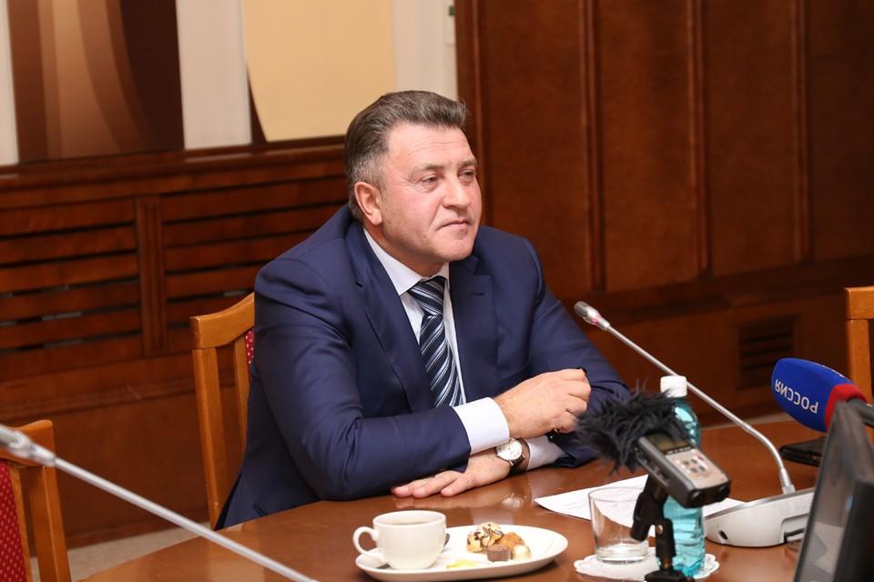 Андрей Шимкив ответил на вопросы журналистов.