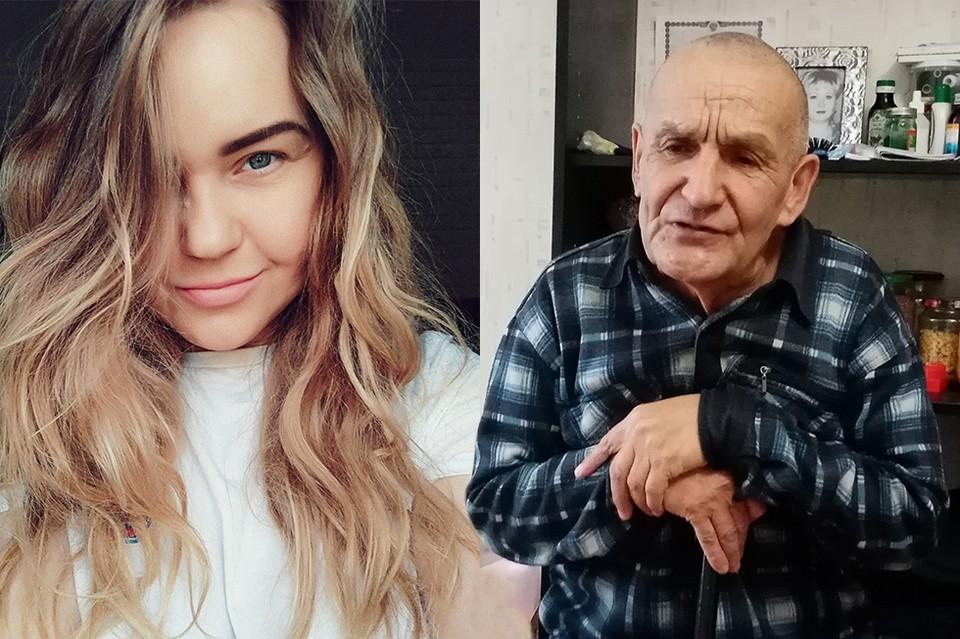 Катерина Чаликян не смогла пройти мимо дедушки. Она опубликовала историю Закия Мингалеевича у себя в соцсетях. Фото: Елена СЕРЕБРОВСКАЯ, соцсети