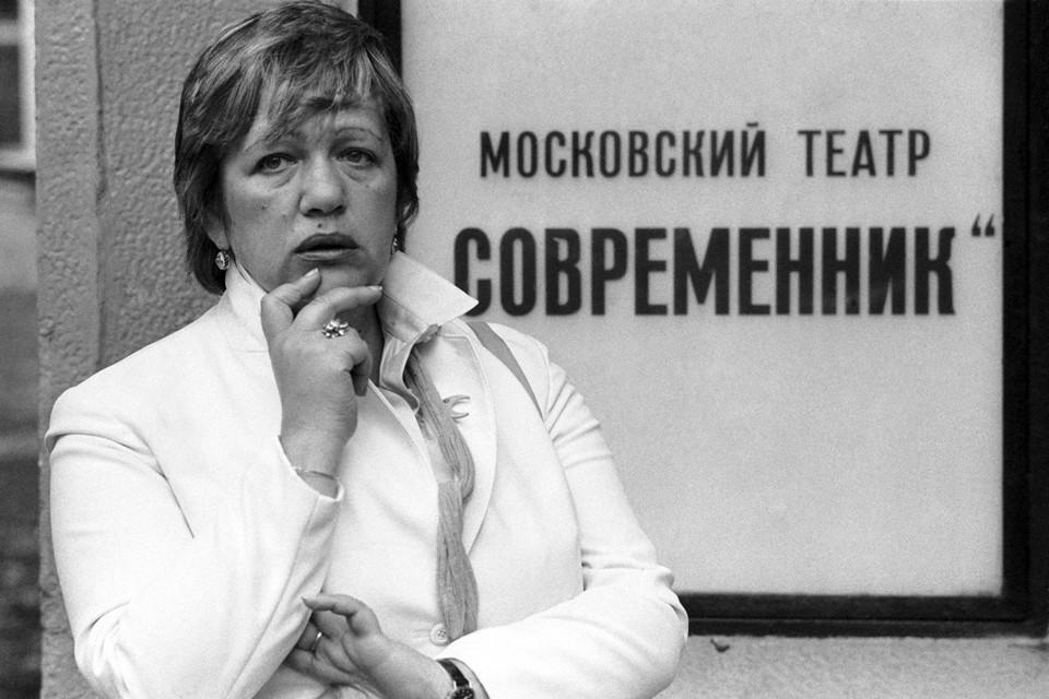 После ухода Ефремова из «Современника» в начале 70-ых актеры уговорили Волчек возглавить театр