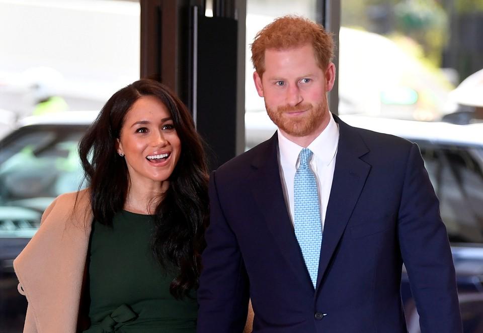 Принц Гарри и Меган Маркл уехали на Рождество в Канаду