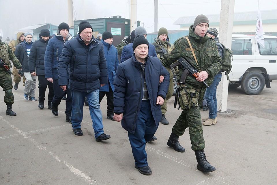 Cостоялся обмен задержанных лиц между официальным Киевом и республиками Донбасса