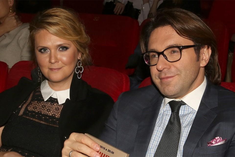 Андрей Малахов с супругой Натальей.