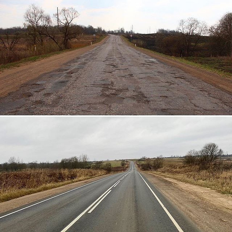 ФОТО: instagram.com. В 2019 году в Псковской области отремонтировали более 170 км дорог.