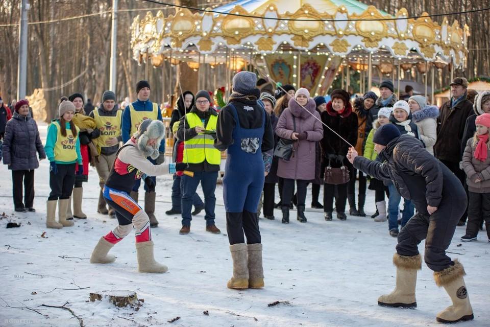"""Зимние забавы. Фото"""" сайт горадминистрациию"""
