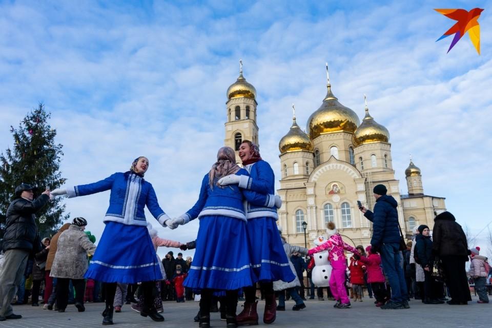 Орловцы отпраздновали Рождество с размахом в Вятском Посаде