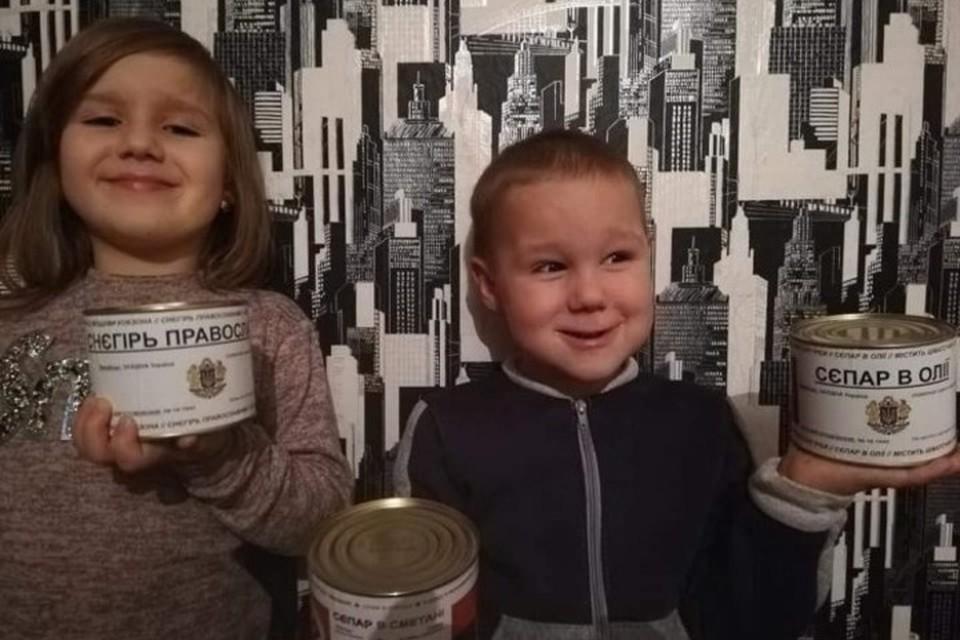 В ДНР пригрозили последствиями за выпуск в Украине консервов «Сепар в сметане». Фото: ВКонтакте