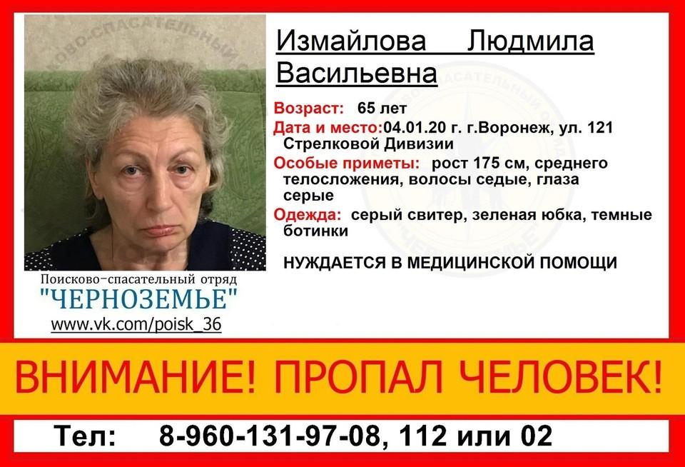 Людмилы Васильевны нет дома уже девять суток.