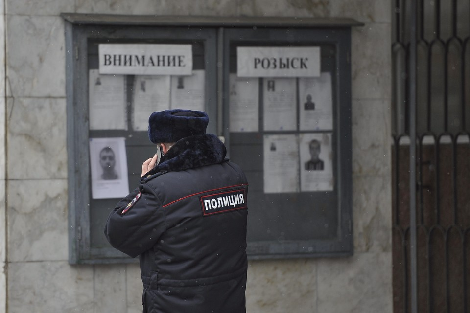 Полиция ищет подозреваемого в преступлении