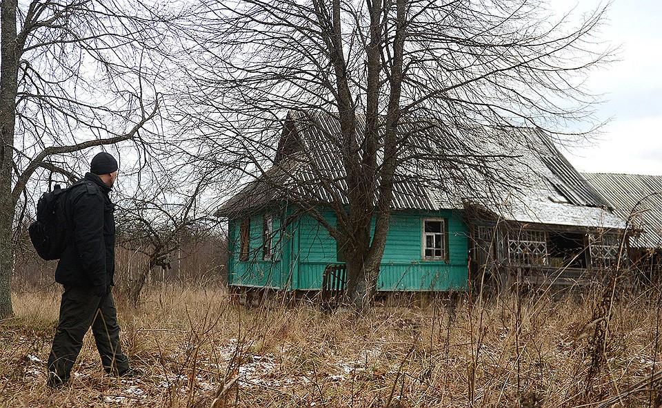 Одна из заброшенных деревень Тверской области.