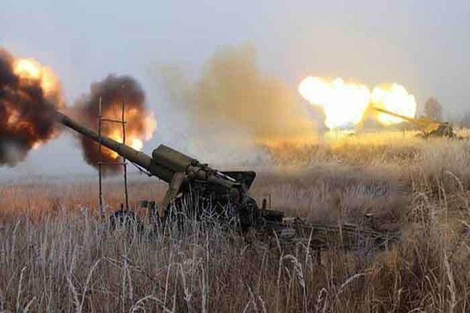 ВСУ продолжают обстреливать территорию Донбасса. Фото: https://www.facebook.com/