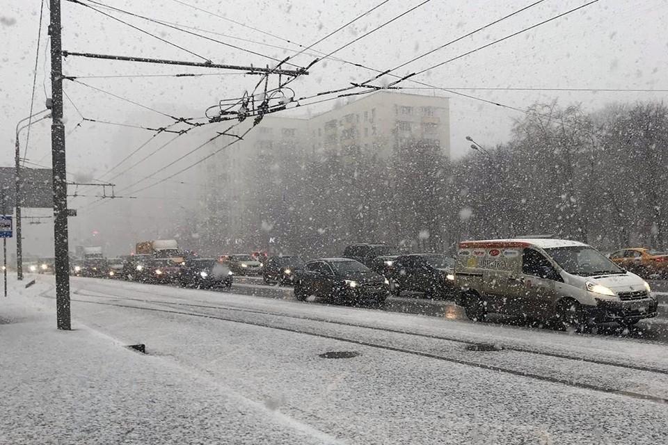 Столицы укатало снежным покрывалом. Фото: instagram.com/nadezhdad