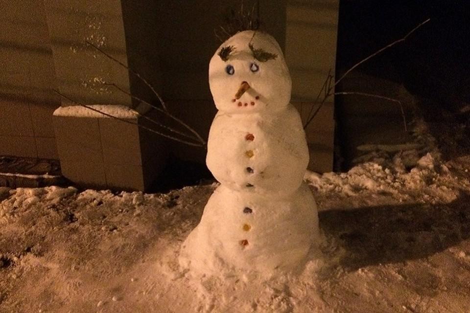О снеге нам приходится только мечтать.