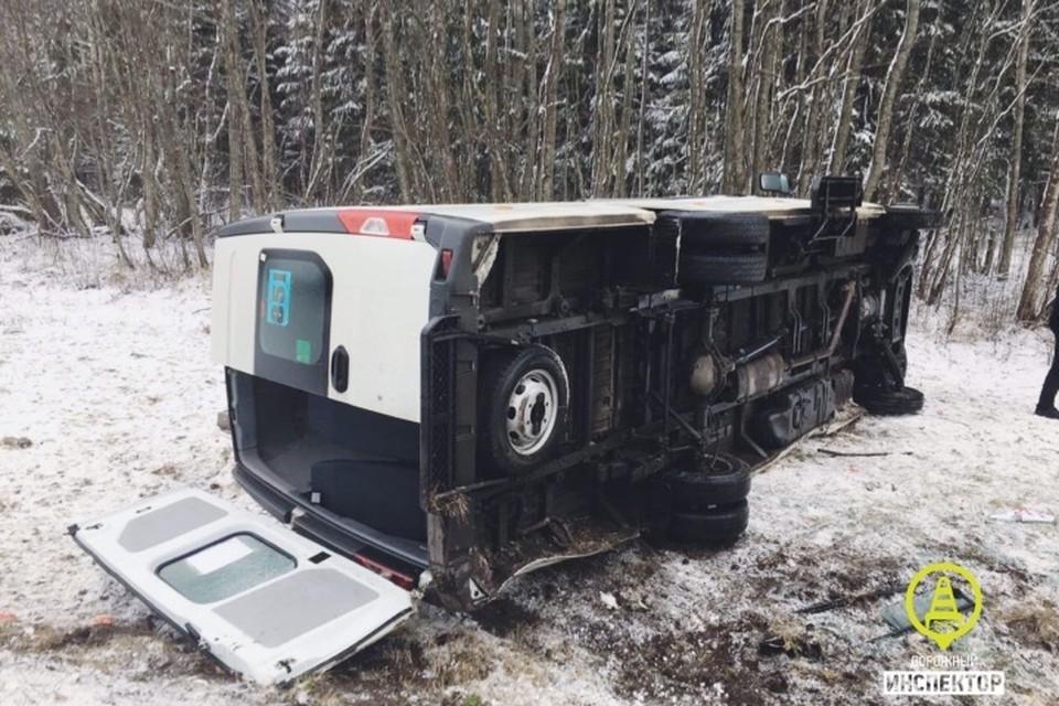В аварии погибла девушка Фото: Дорожный инспектор