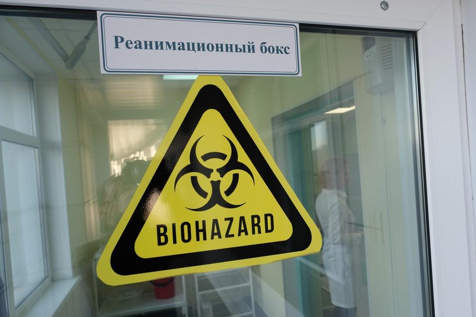 В больнице имени Боткина на случай приема пациентов с китайским коронавирусом готовят специальное резервное отделение - с отдельным входом, сестринским постом и палатой реанимации.