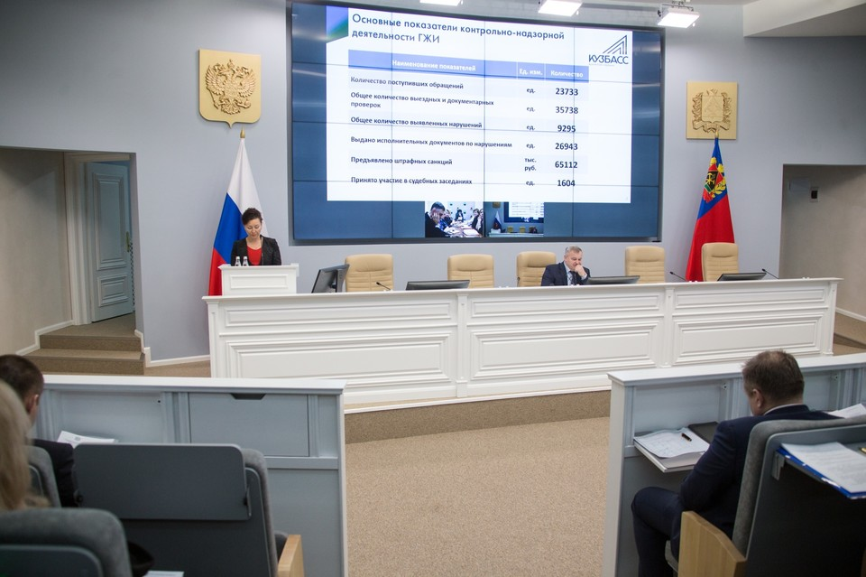 За год управляющие компании Кузбасса оштрафовали на 65 миллионов рублей. ФОТО: Администрация Кемеровской области