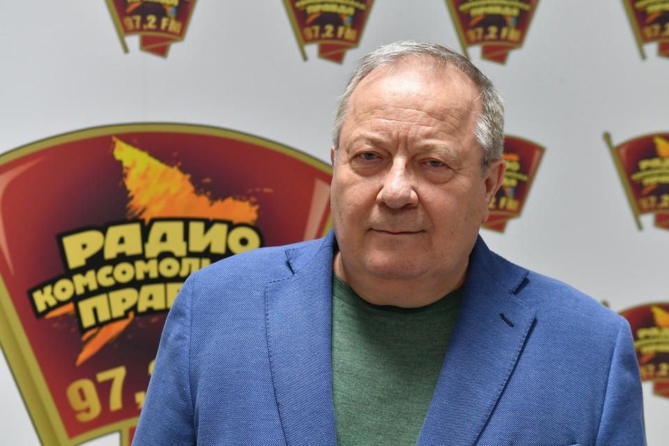 Бывший генеральный прокурор России, профессор РГСУ Юрий Скуратов на радиостанции `Комсомольская правда`.