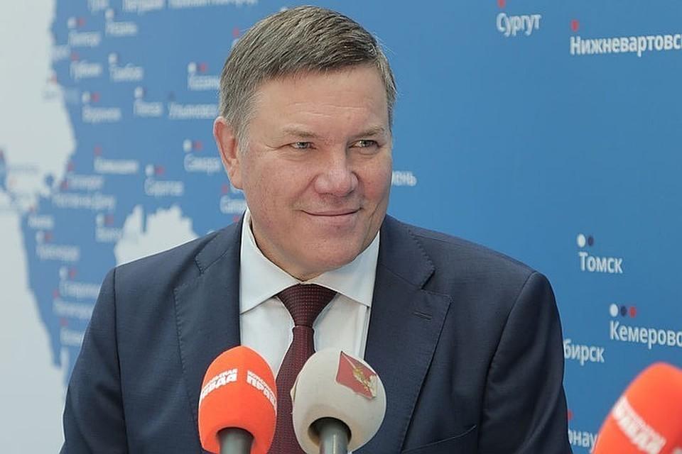 Губернатор Вологодской области Олег Кувшинников.