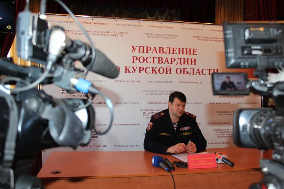 Журналистам рассказали о результатах служебно-боевой деятельности